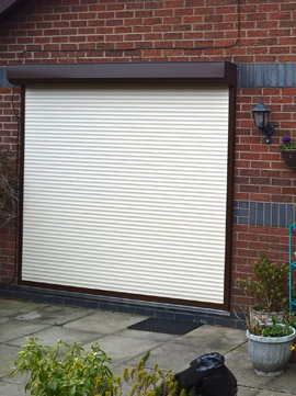 External robust security shutters