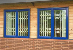 security grilles stockport