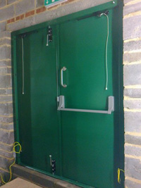 steel personnel doors